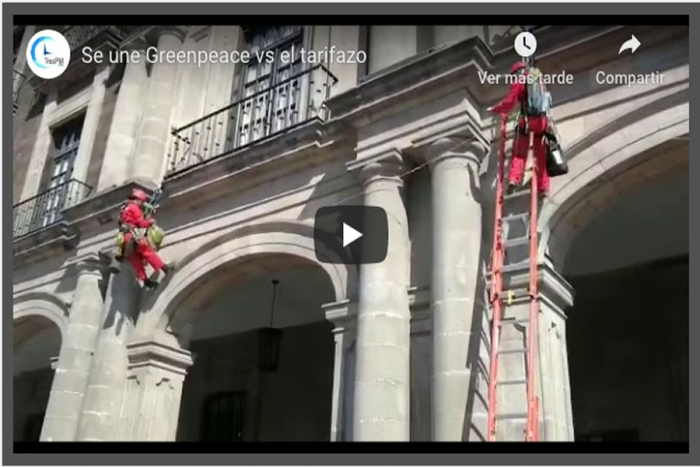 Greenpeace vs El Tarifazo