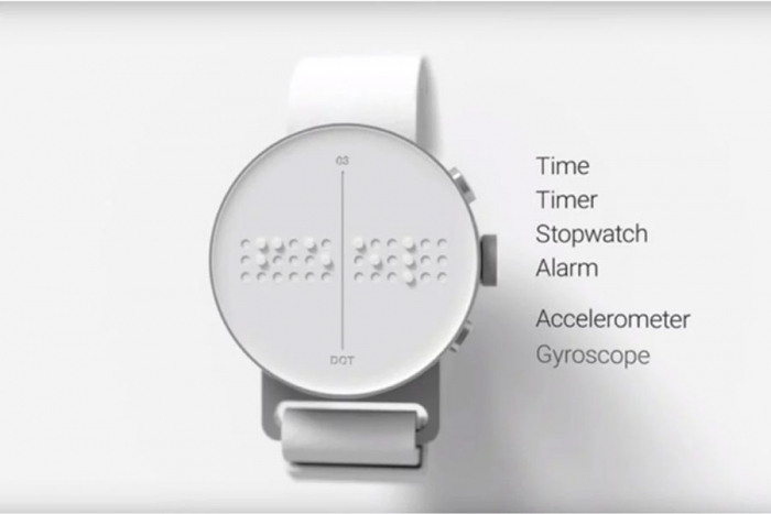 Smartwatch braille para las personas no videntes