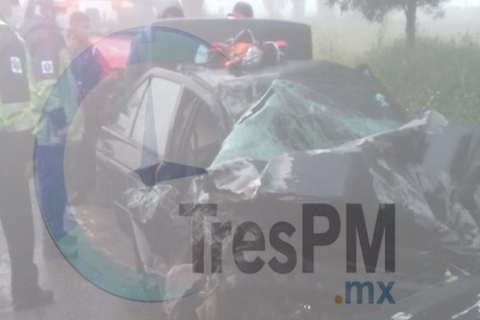 Mañana de accidentes en Toluca
